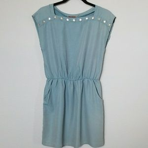 Kaitlyn chambray style dress small